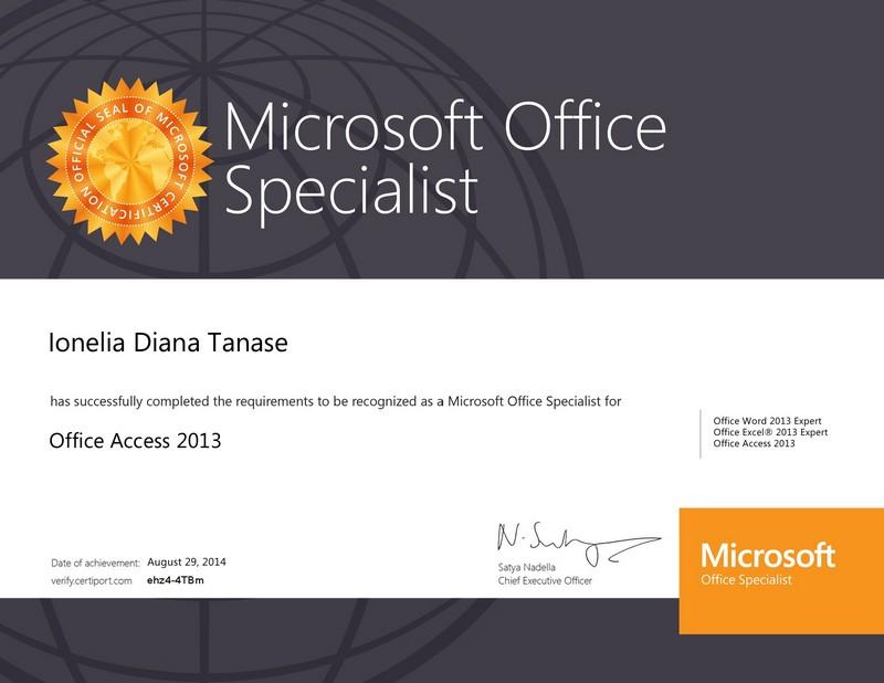Tanase Diana - Access 2013