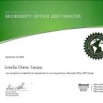 Tanase Diana - Microsoft Office 2007 Master
