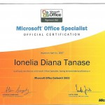 Tanase Diana - MOS Outlook 2003