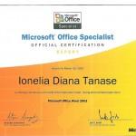 Tanase Diana - MOS Word 2003